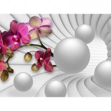 Орхидея и шары
