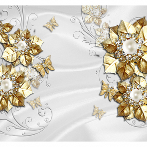 Золото с жемчугом