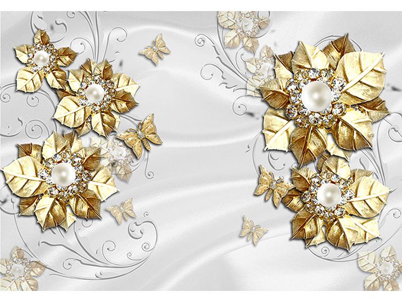 Золото с жемчугом 2092