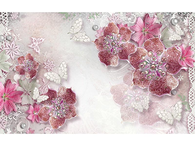 Цветы красные композиция 2083