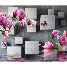 Цветы объемные