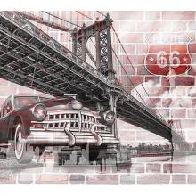 Мост и машина арт