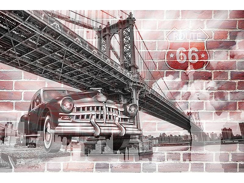 Мост и машина арт 2057