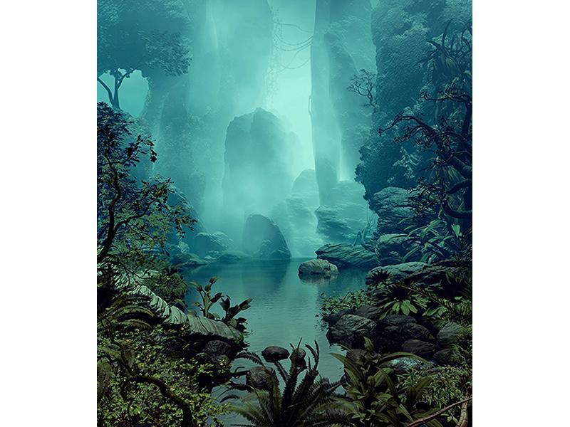 Озеро в тумане 2047