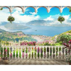 Балкон над заливом