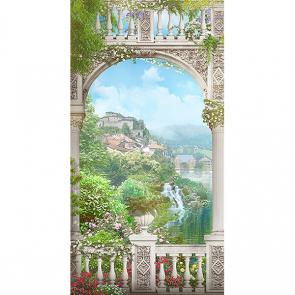 Балкон у реки
