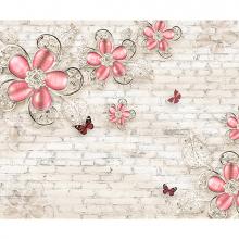 Цветы красные лофт