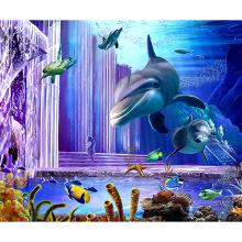 Дельфины на глубине
