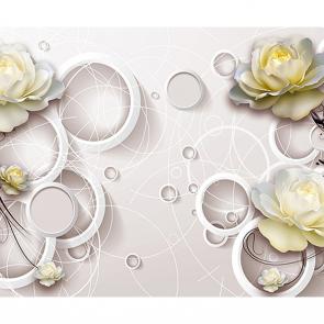 Цветы и кольца нежность