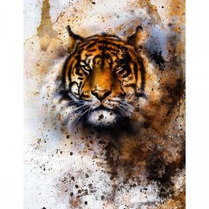 Акварельный тигр