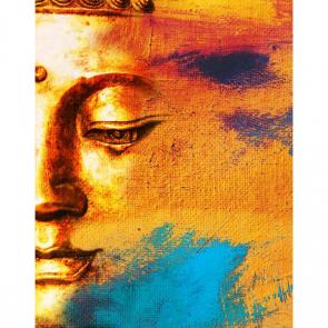 Будда акварелью