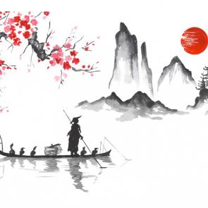 Китай акварель