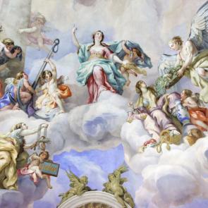 Ангелы на облаках