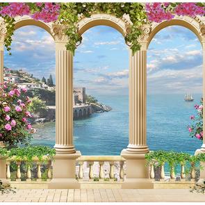 Балкон над морем