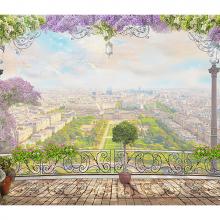 Балкон над парком