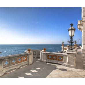 Балкон с видом на море 5095