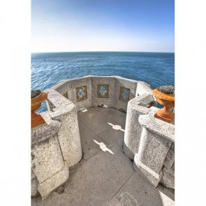Балкон с видом на море 5096