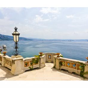 Балкон с видом на море 5097