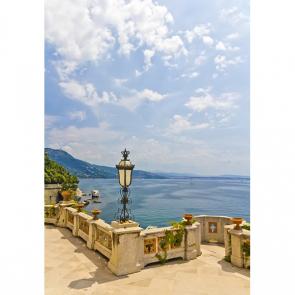 Балкон с видом на море 5098