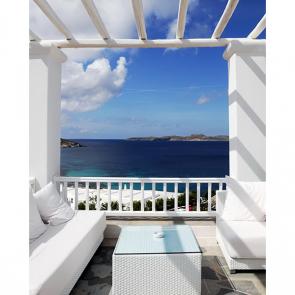 Балкон с видом на море 5104