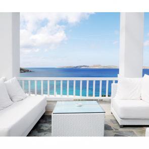 Балкон с видом на море 5105