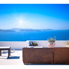 Балкон с видом на море 5106