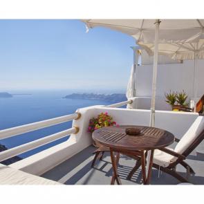 Балкон с видом на море 5107
