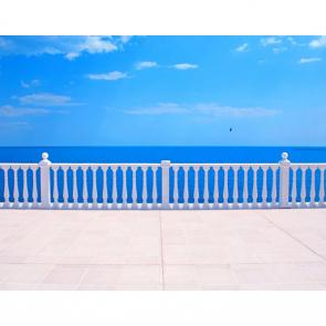 Балкон с видом на море 5111