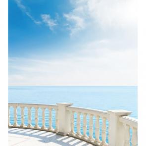 Балкон с видом на море 5113