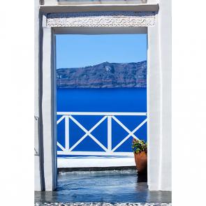 Балкон с видом на море 5115