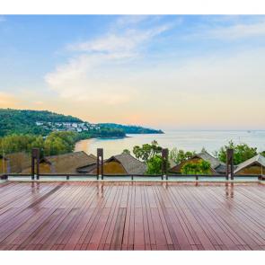 Балкон с видом на море 5118