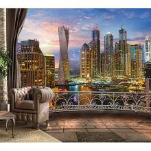 Балкон в мегаполисе