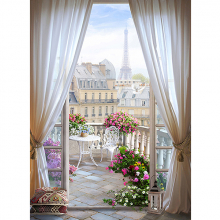 Балкон в Париже