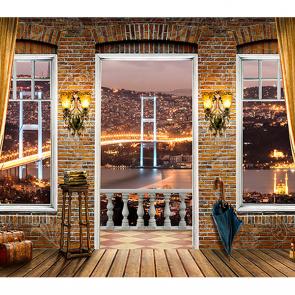 Балкон вид из окна