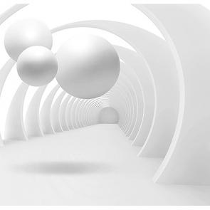 Белые шары  композиция