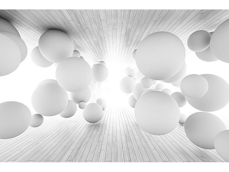 Белые шары 3д 1964