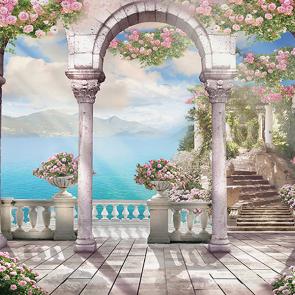 Белый балкон теплый