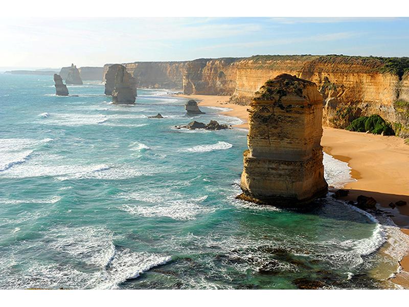 Берег в Австралии 2563