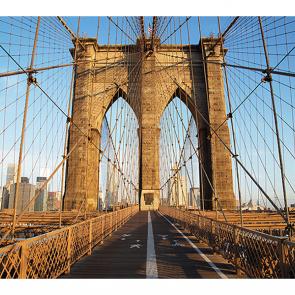 Бруклинский мост на рассвете