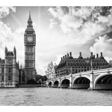 Черно-белый Лондон