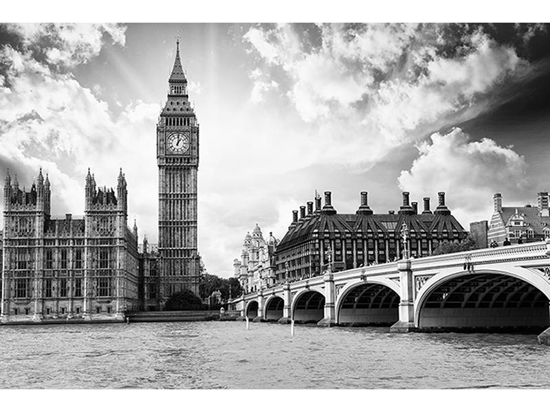 Черно-белый Лондон 1040