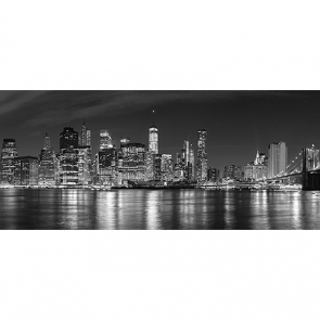 Черно-белая панорама