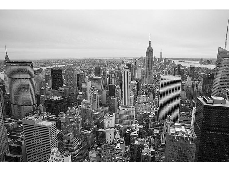 Черно-белые небоскребы 1034