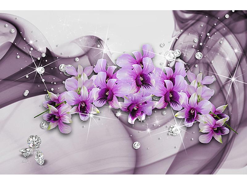 Фиолетовые цветы 1044