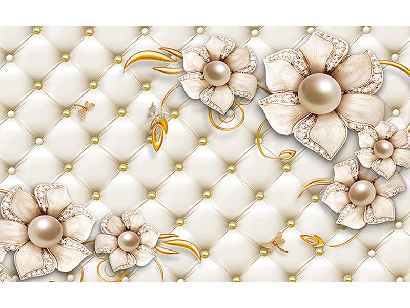 Цветы из жемчуга 1049
