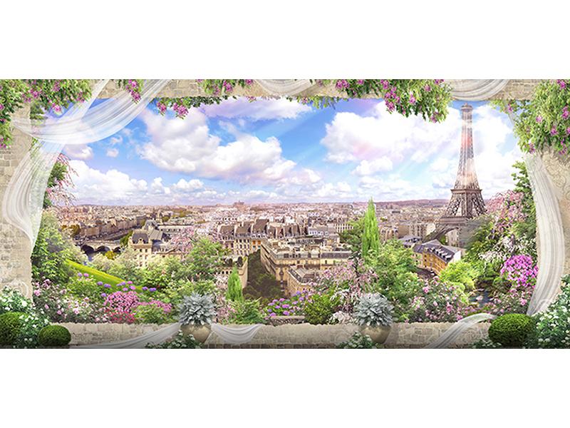 Цветы Парижа 1047