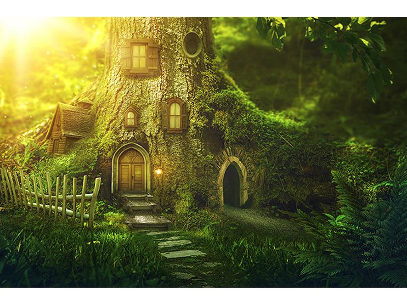 Дерево дом 2227