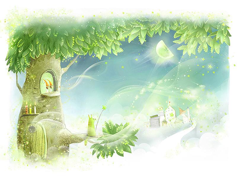 Дерево фей 2228