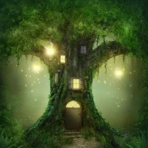 Дерево в детскую 00021