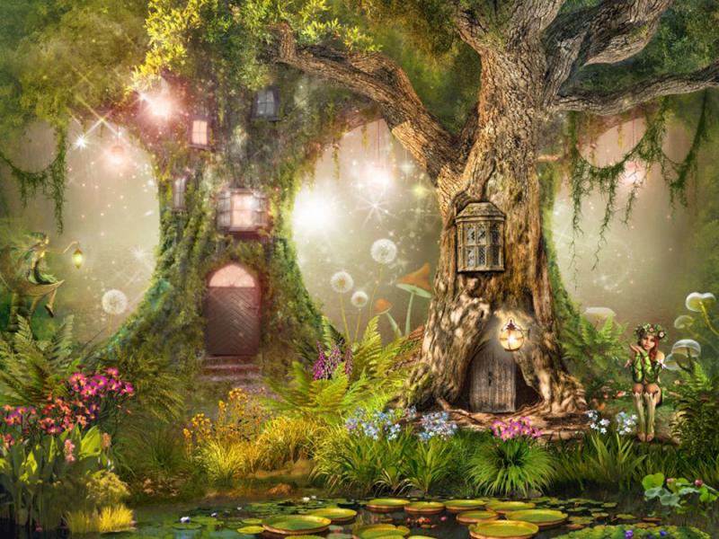 Дерево в детскую 09020 6878